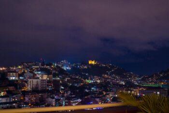 la vista dall'Hotel Colbert - Spa & Casino ad Antananarivo
