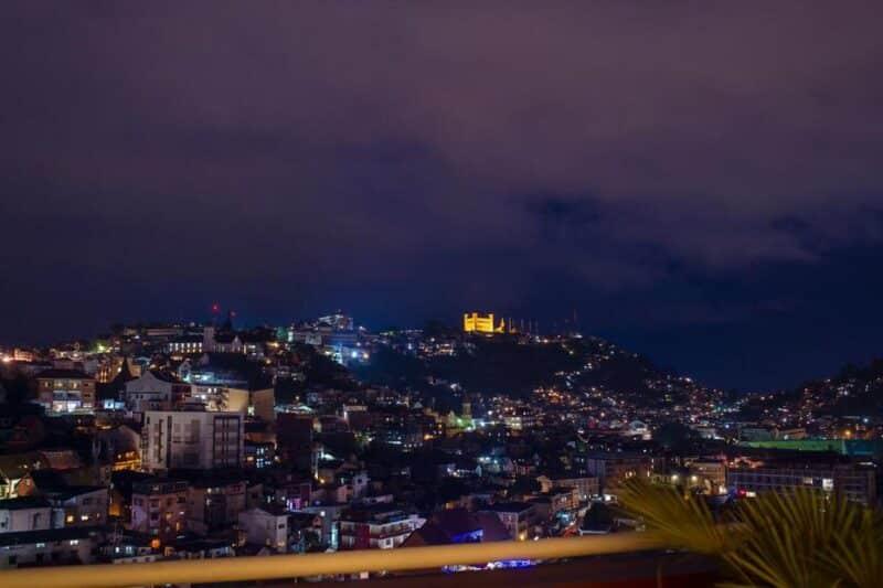 the view from Hotel Colbert - Spa & Casino in Antananarivo