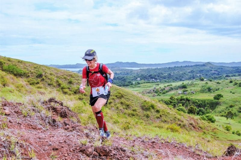 partecipante al Nosy Be Trail