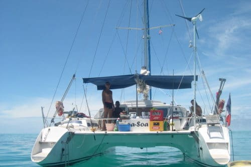 Soa Soa, catamaran cruise to discover Nosy Be