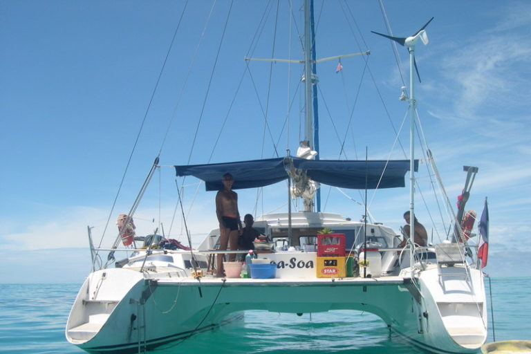 Soa Soa, croisière en catamaran à la découverte de Nosy Be