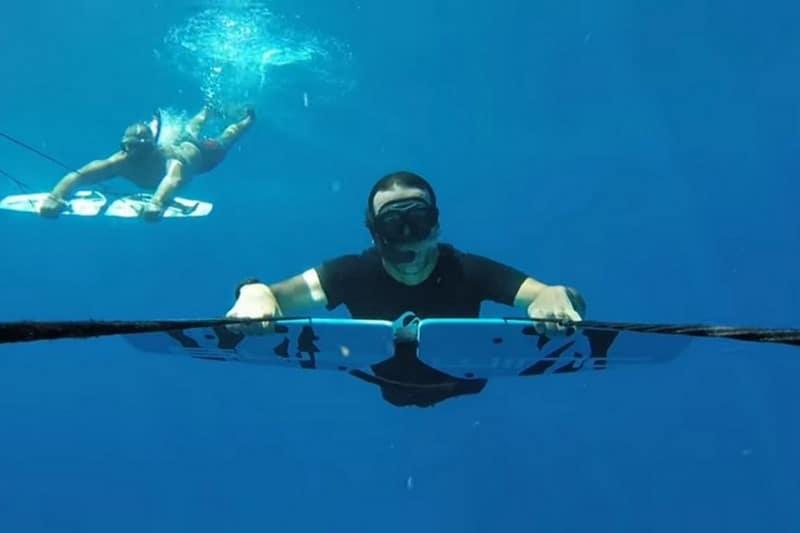 Voler dans les eaux en Subwing !