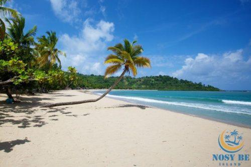 beach andilana nosy be