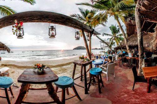 Beach bar nosy be