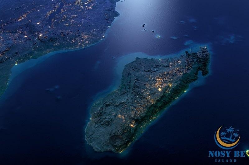 Madagascar vue du ciel