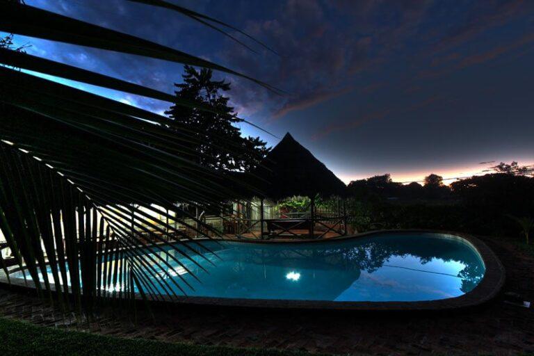 Le Clair de Lune, hôtel sur les hauteurs d'Ambatoloaka