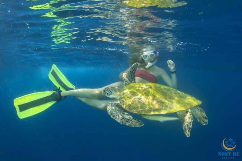 snorkeling nosy be