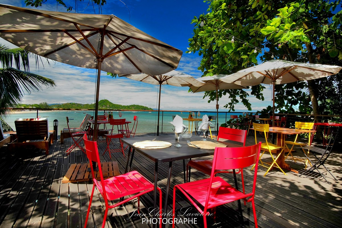 Le Deck, restaurant vue panoramique sur Madirokely