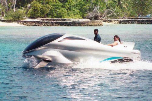 Nautilus nosy be, glass bottom boat