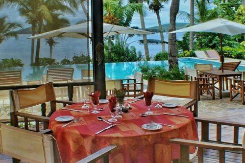 restaurant vanila hotel nosy be