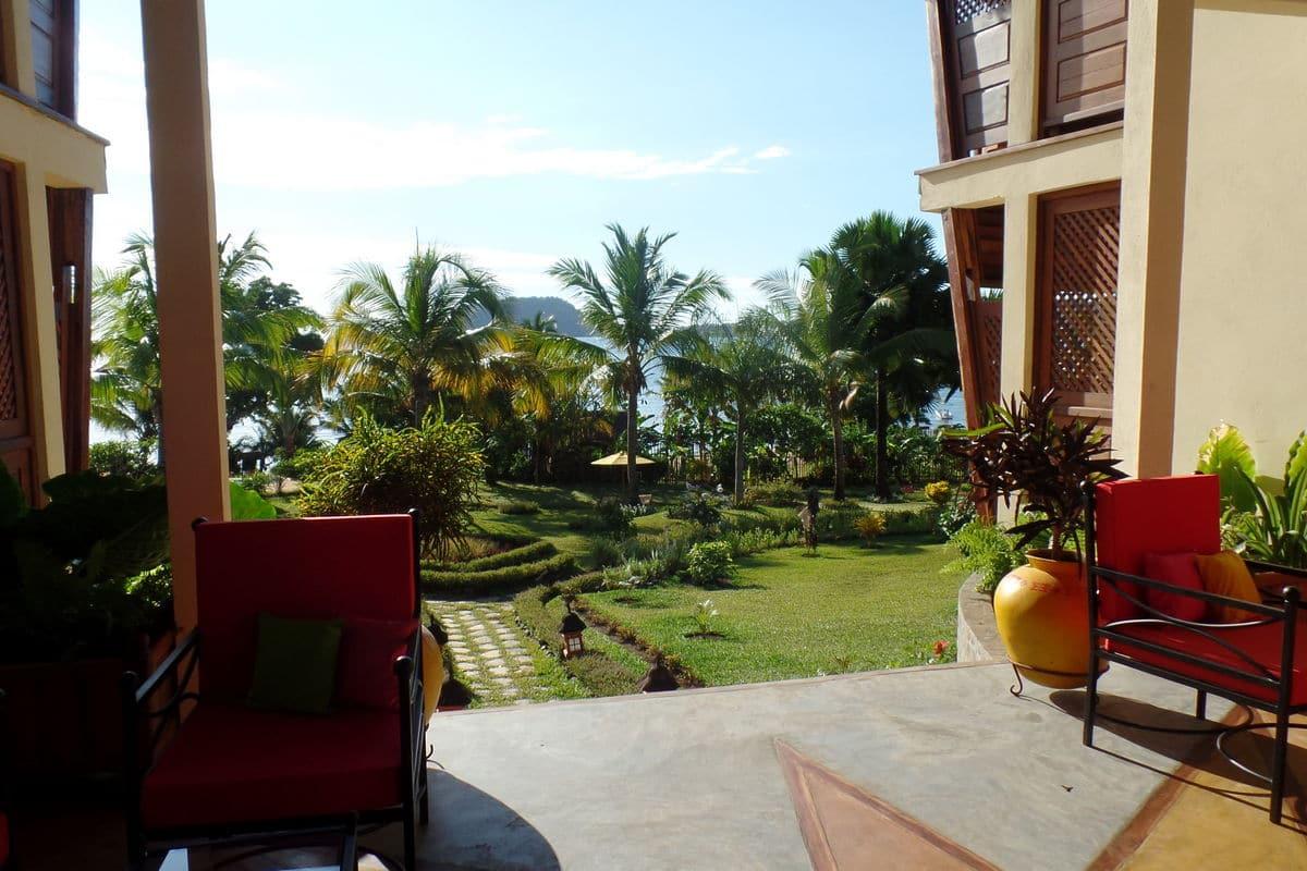 ogród vanila hotel wścibski