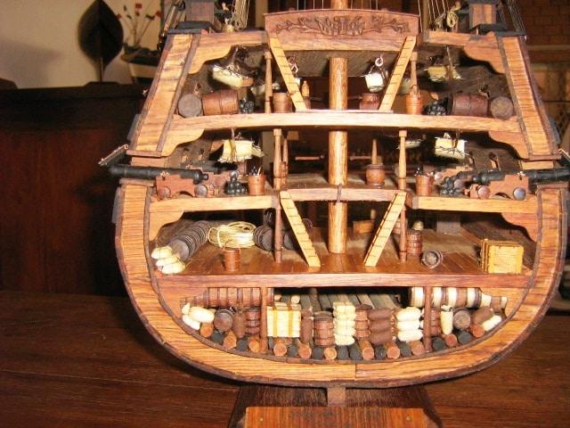 maquette bateau nosy be