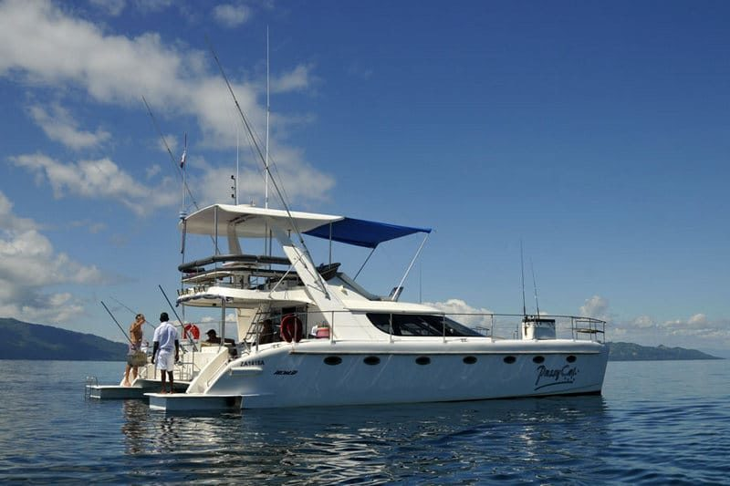 luxury cruise to nosy be by catamaran