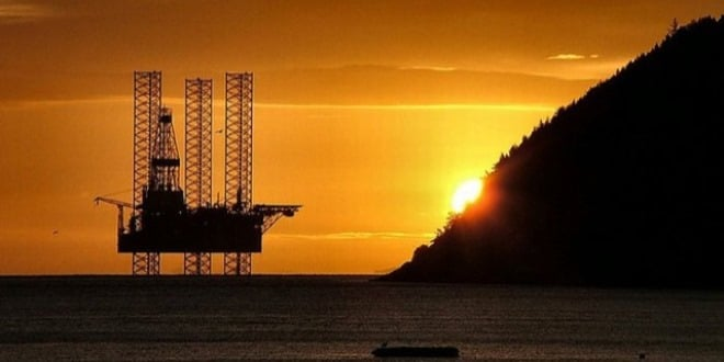 Sunset and oil in Madagascar