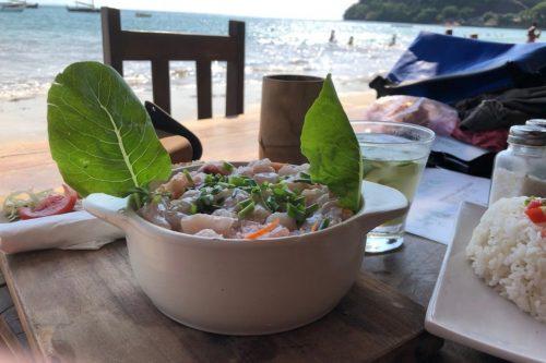 Tsy Manin Restaurant in Nosy Be