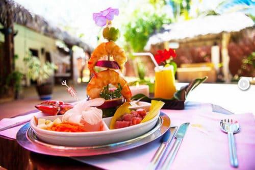 Restaurant Alta Marea à Nosy Be