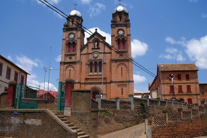 Visit to Ambozontanty Cathedral