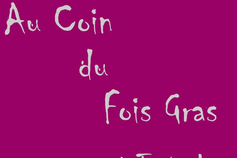 Restaurant Au Coin du Fois Gras in Tana