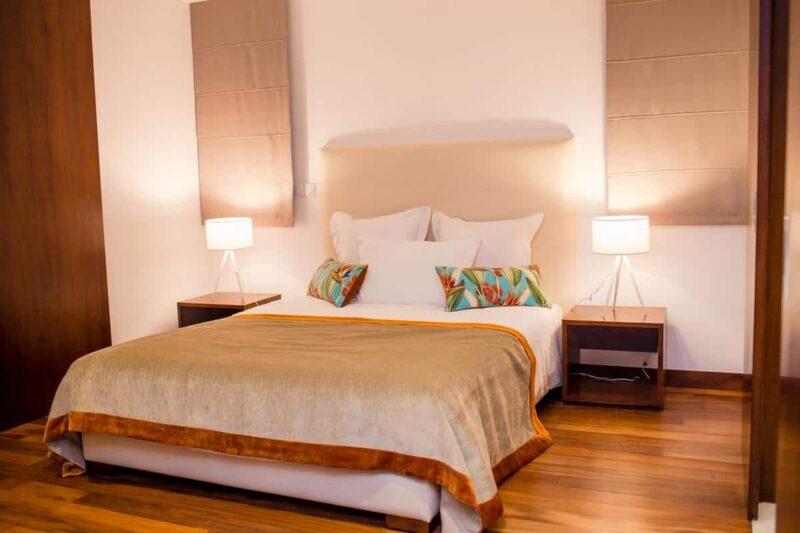 Chambre double ou simple à l'hôtel La Varangue à Antananarivo