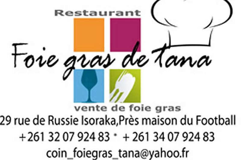 Restauracja Tana Foie Gras