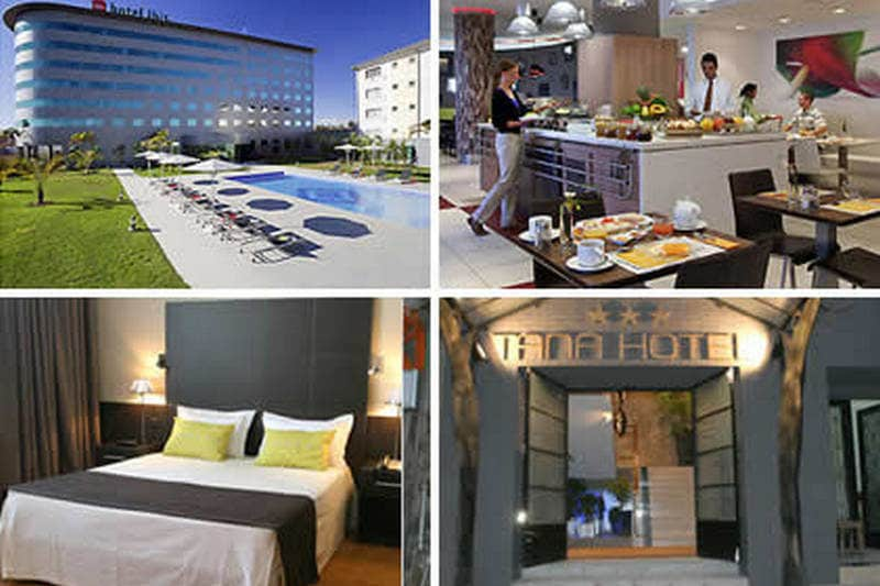 Hotel Ibis and Tana Hotel