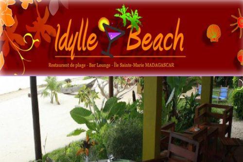 Restaurant Idylle Beach à Sainte Marie