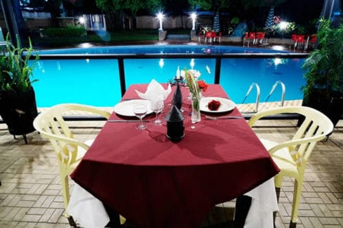 The Pool Restaurant in Tana