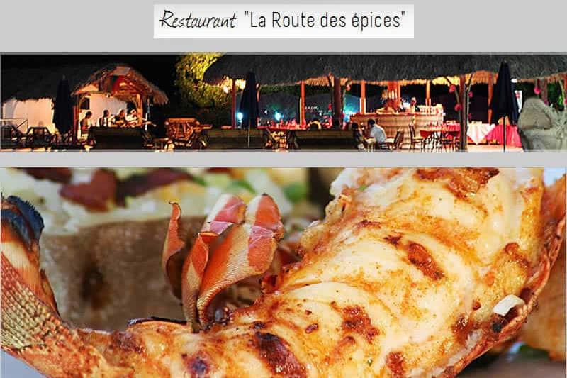 Restauracja The Spice Route w Diego-Suarez