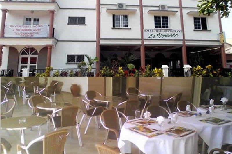 Restauracja La Veranda w Tamatave