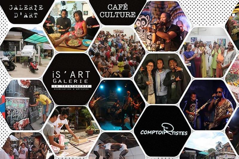 Restaurant Le Comptoir des Artistes in Tana