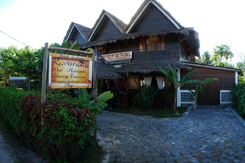 Restauracja Ravoraha w Sainte Marie