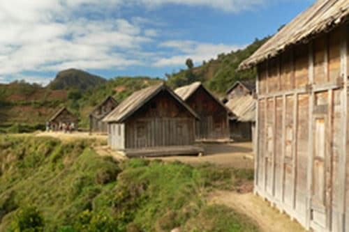 Turismo del villaggio in Madagascar