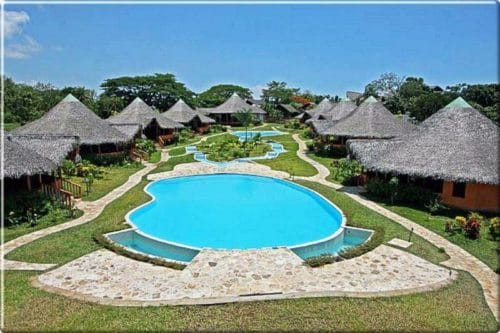 Loharano Hotel, the jewel of the island of Nosy-Be