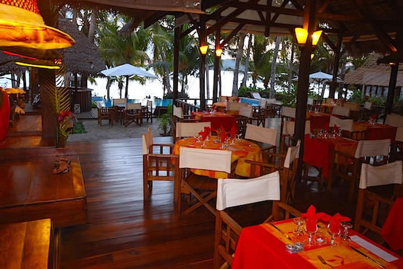 Vanille Perfume Restaurant in Nosy Be