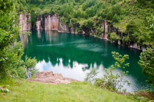 Visite du Lac Tritriva (lac volcanique)