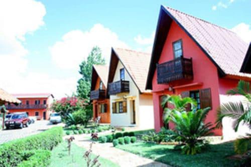 Hôtel aux bougainvillées à Fianarantsoa