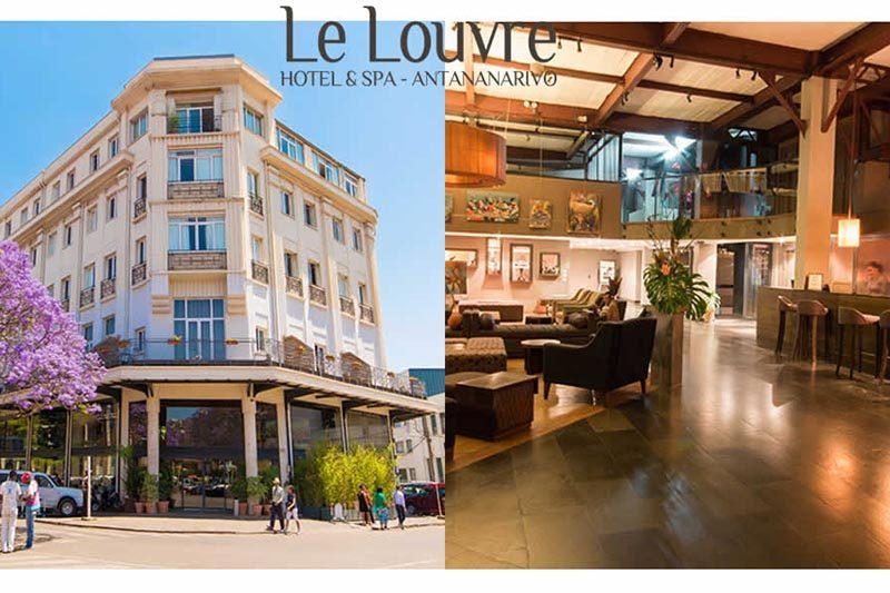 Hotel louvre antananarivo Madagascar