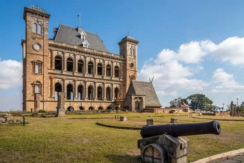 palace of the queen antananarivo