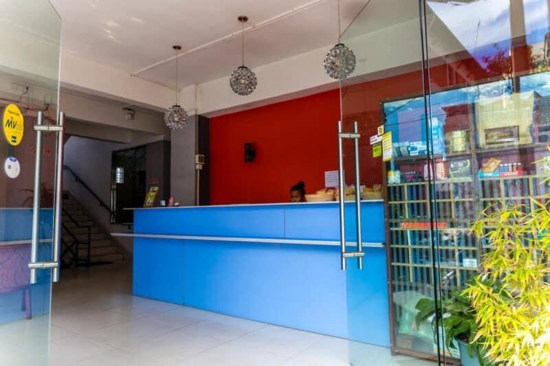 reception hotel nosy be tana