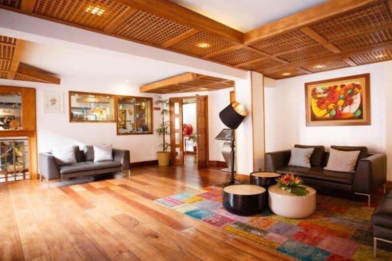 reception hotel palissandre antananarivo