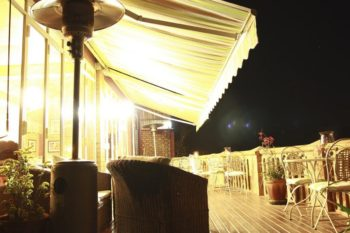 Terrace Restaurant at Lokanga Botique Hotel in Antananarivo
