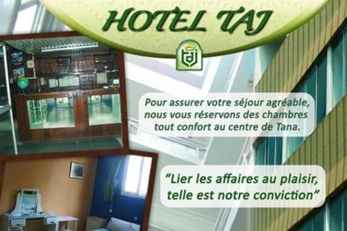 taj hôtel à Antananarivo