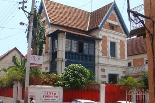 villa isoraka à Antananarivo
