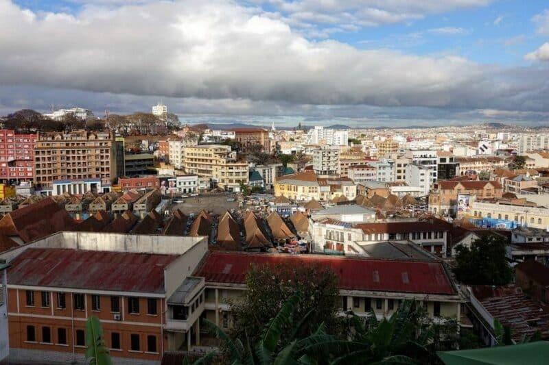 vue hotel palissandre antananarivo