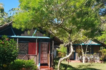 the Bungalows at Auberge Aladabo in Nosy be