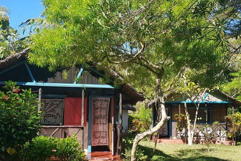 i bungalow dell'Auberge Aladabo a Nosy be