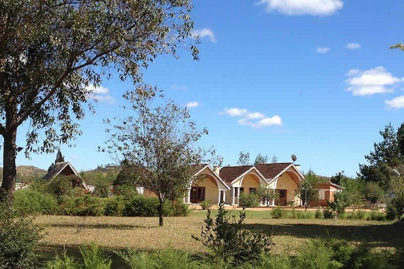 Antsaha parc hotel à Antsirabe - Madagascar