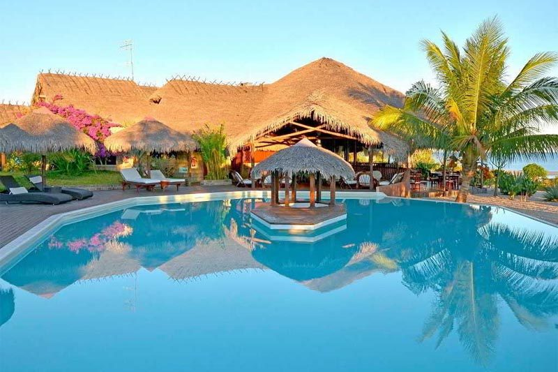 Antsanitia resorts à Mahajunga - Madagascar