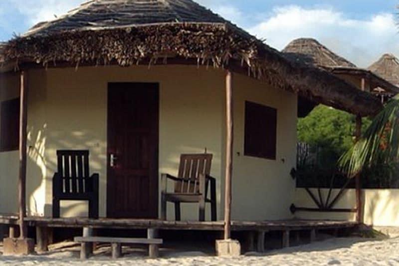 Hotel au soleil couchant à Ifaty - Madagascar