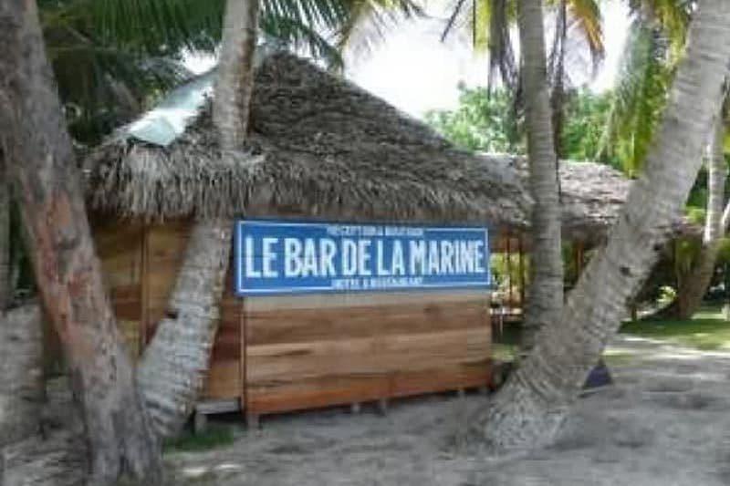 Bar marynarki wojennej w Sainte-Marie - Madagaskar